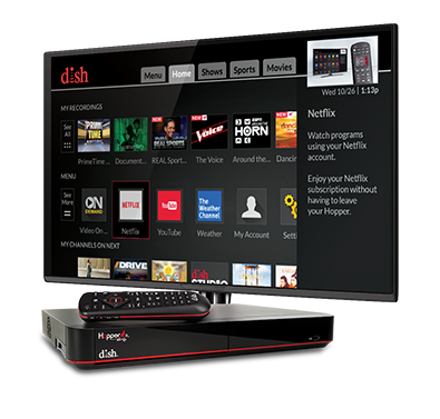 The Hopper - Voice remotes and DVR - Muskegon, MI - MediaPro, LLC - DISH Authorized Retailer