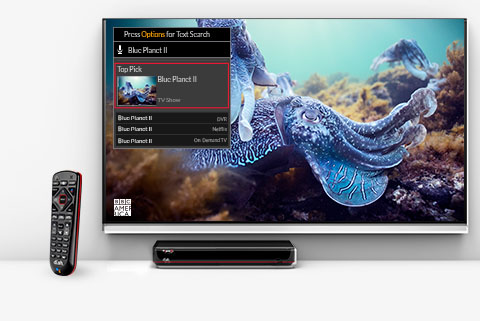 Hopper DVRs  with Voice Control remote - MediaPro, LLC in Muskegon, MI - DISH Authorized Retailer